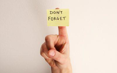 Reminder: Knowledge Retention Matters