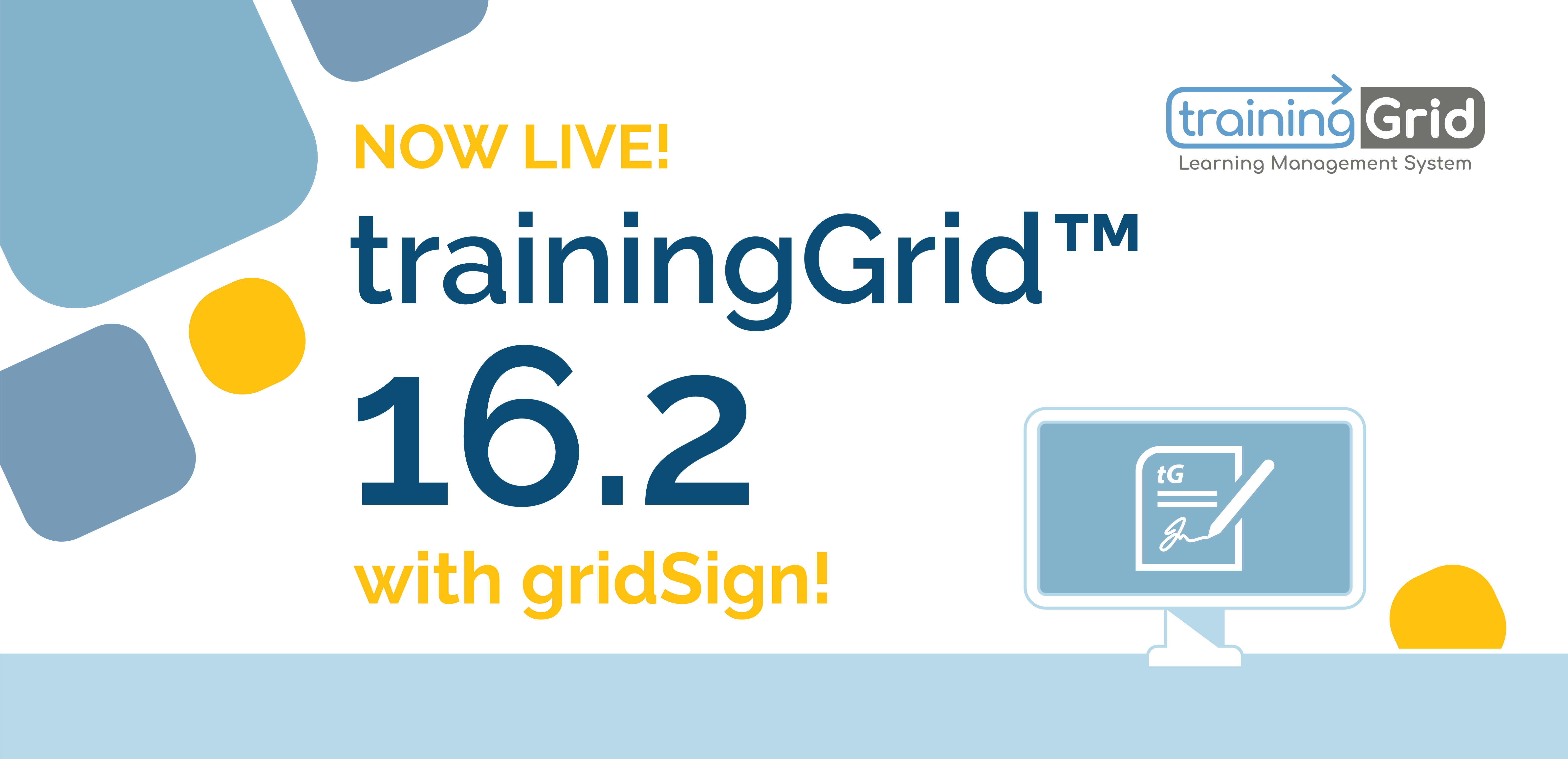 gridSign by trainingGrid is now live!